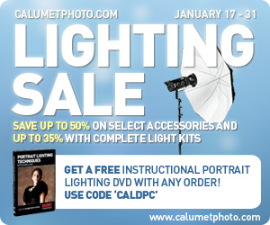 Calumet Photographical Lighting Sale