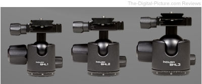 Induro Low-Profile, Heavy-Duty BHL Ballheads