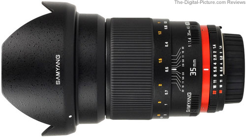 Samyang 35mm f/1.4 AS UMC Lens