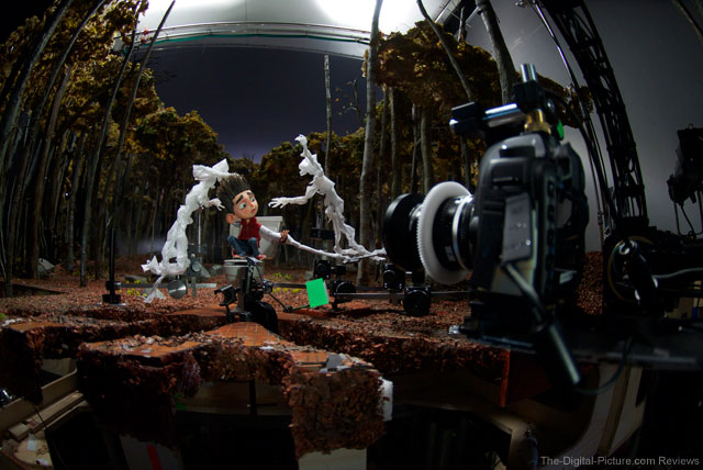 "Canon EOS 5D Mark II Digital SLR Captures ""ParaNorman"""