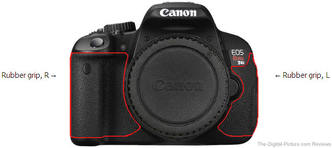 Canon EOS Rebel T4i Grip