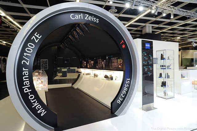 Carl Zeiss at Photokina 2012