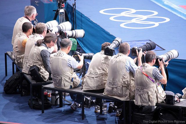 Domke PhoTOGS Vest at 2012 Olympic Games in London