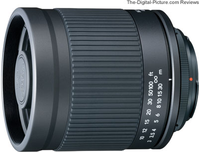 Kenko 400mm f/8 Mirror Lens