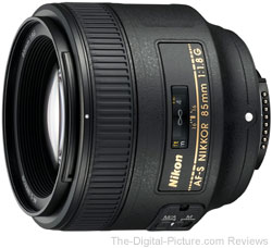 Nikon 85mm f/1.8G AF-S Nikkor Lens