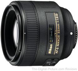 Nikon 85mm f/1.8G AF-S Nikkor Lens
