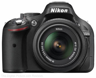 Nikon D5200 DSLR Camera