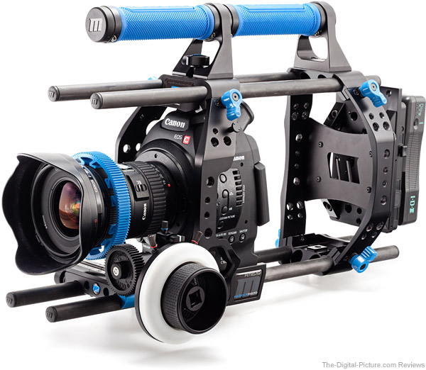 Redrock Micro ultraCage | blue for Canon EOS C100