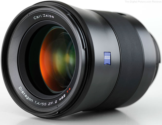 Zeiss 55mm f/1.4 Distagon T* Lens