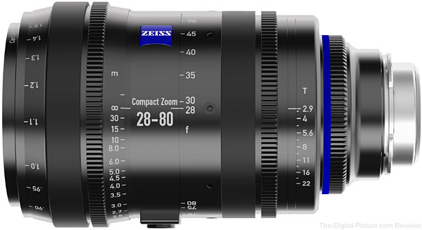 Zeiss CZ.2 28-80mm T2.9 Compact Zoom Lens