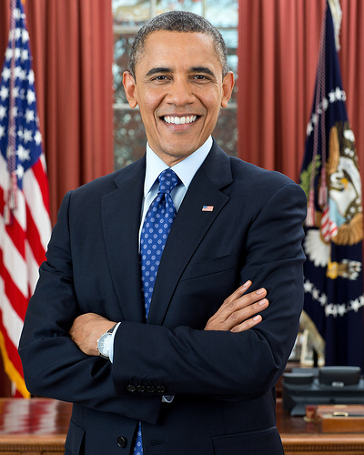 Barack Obama 2013 Official Portrait