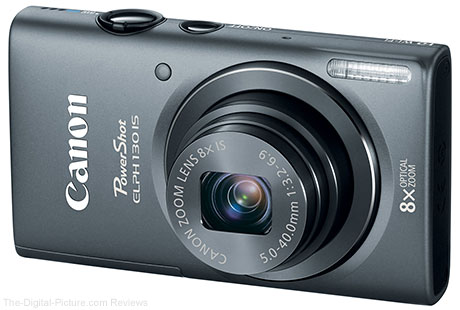 Canon PowerShot ELPH 130 IS Digital Camera