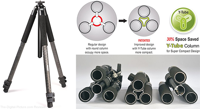 Giottos Silk Road YTL Series Tripods