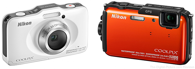 Nikon Coolpix S31 and Nikon Coolpix AW110