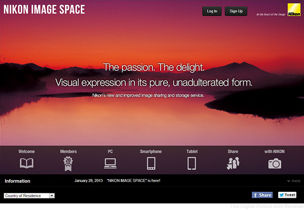 Nikon Image Space