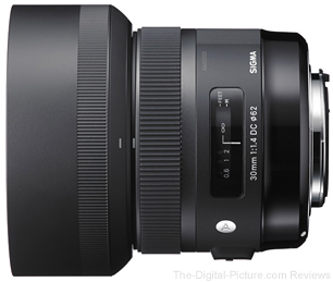 Sigma 30mm f/1.4 DC HSM