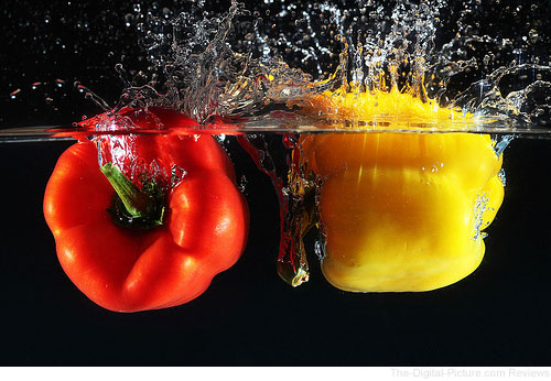 Bell Peppers in Water