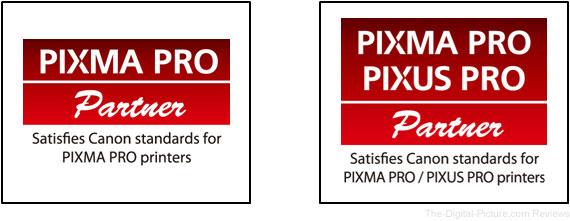 Canon PIXMA PRO Partner mark