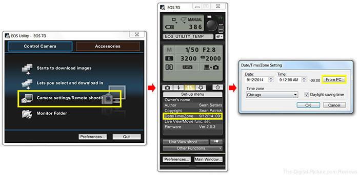 Time Sync EOS Utility 2.x