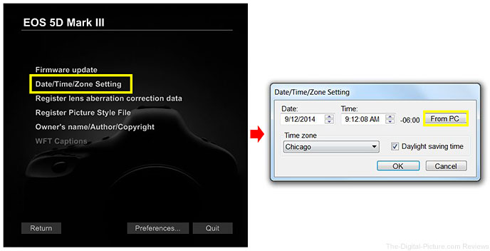 Time Sync EOS Utility 3.x