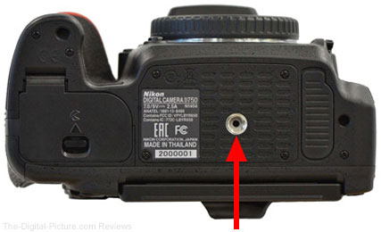 Nikon D750 Black Dot