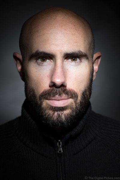 Sean Self Portrait with Grids