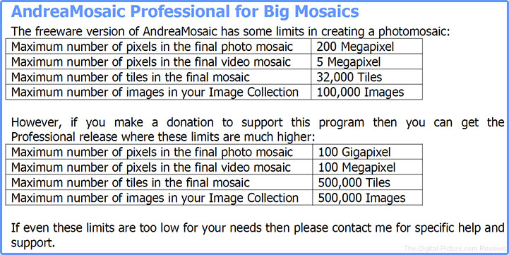 Andrea Mosaic Professional Benefits