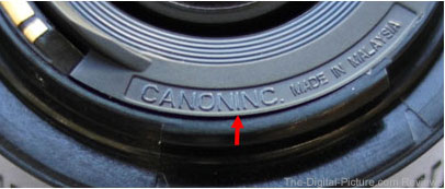 Canon EF 50mm f 1.8 II Counterfeit Lens