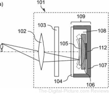 Canon Electronically Curved Sensor Patent