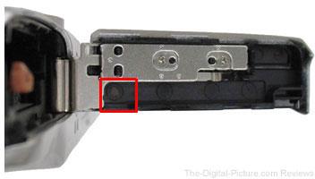 Canon PowerShot ELPH 180 Service Advisory Marking
