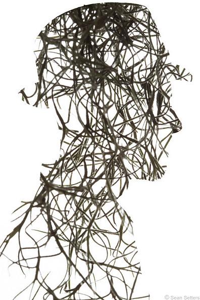 Multiple Exposure Self-Portrait Spanish Moss 2016
