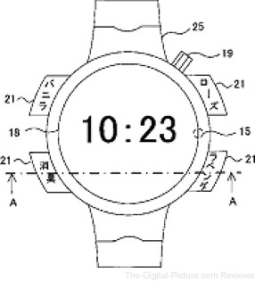 Nikon Watch Patent Fragrance Release