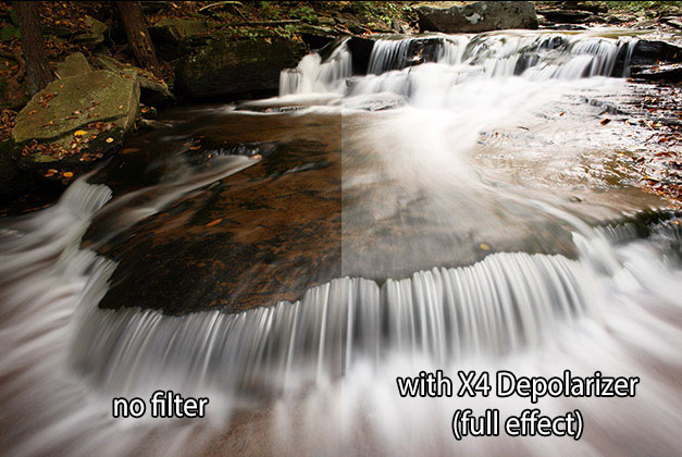 Breakthrough Photography X4 Depolarizer Filter Example