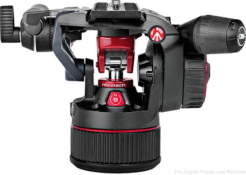 Manfrotto Nitrotech N8 Video Head Close-up
