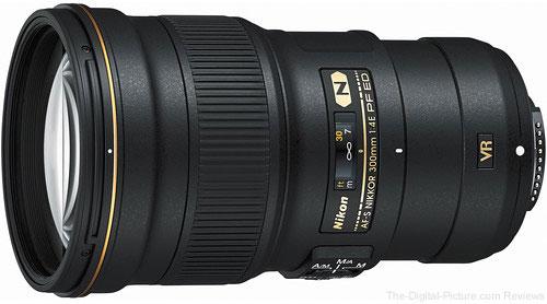 Nikon AF S NIKKOR 300mm f/4E PF ED VR Lens