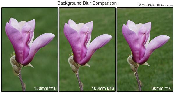 Focal Length Background Blur