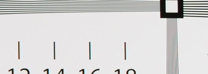 AF-S NIKKOR 35mm f/1.4G 解像力チャート