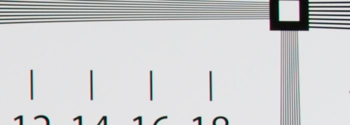 AF-S NIKKOR 35mm f/1.8G ED 解像力チャート