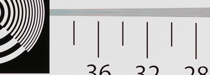 Nikon AF-S 85mm F1.4G 解像力チャート