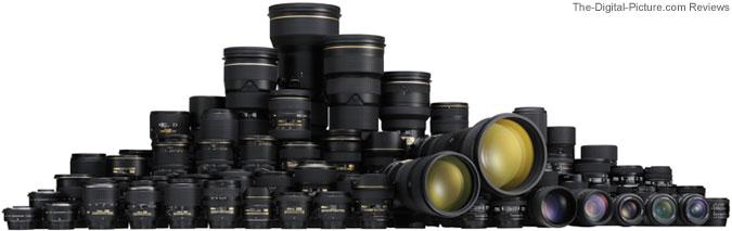 Nikon 2011 Nikkor Lenses