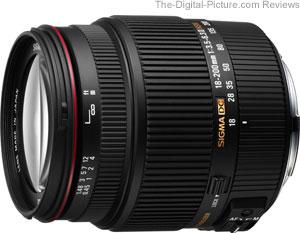 Sigma 18-200mm f/3.5-6.3 II DC OS Lens