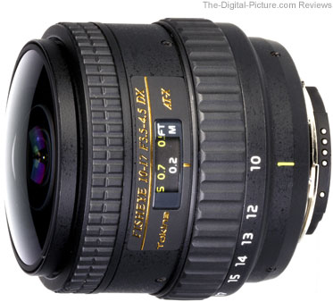 Tokina 10-17mm f/3.5-4.5 AT-X FX Fisheye Lens