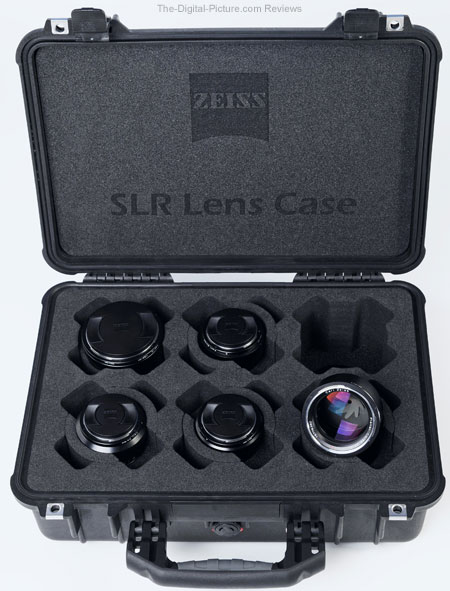 Zeiss SLR Lens Set with Case