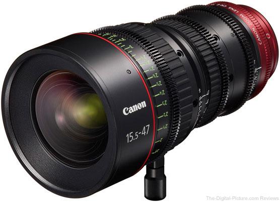 Canon CN-E 15.5-47mm Lens