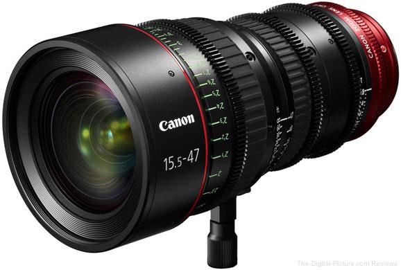 Canon CN-E 15.5–47mm T2.8 L Lens