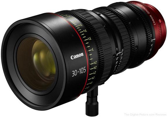 Canon CN-E 30-105mm T2.8 L Lens