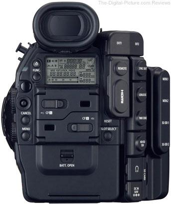 Canon Cinema EOS C500 Digital Cinematography Camera - Rear View