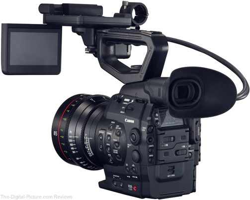 Canon Cinema EOS C500 Digital Cinematography Camera - With Monitor