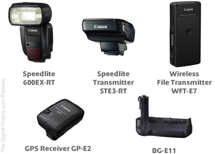 Canon March 2012 EOS DSLR Accessories