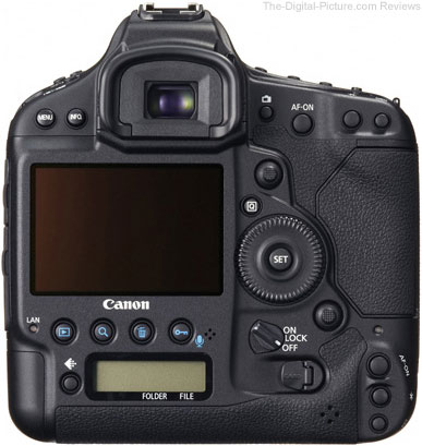 Canon EOS 1D C Digital SLR Camera Back